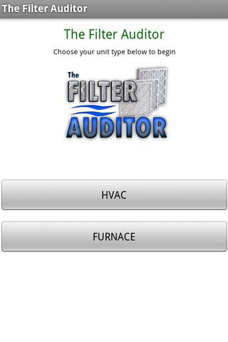 Filter Auditor- screenshot