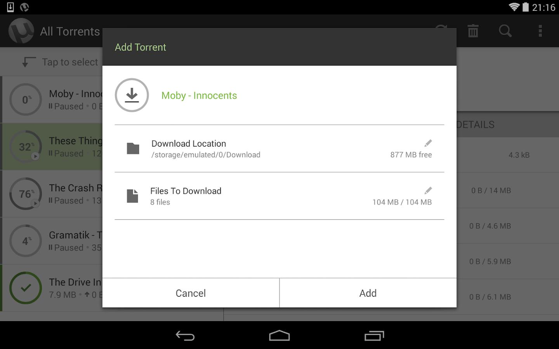 µTorrent® Pro - Torrent App - screenshot