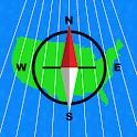UTM Grid Ref Compass icon