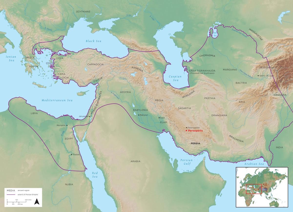 Persian Empire Map — Google Arts & Culture