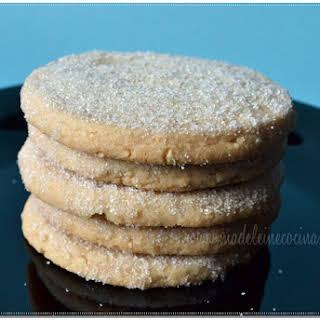 Peanut Sugar Cookies.