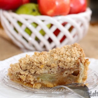 Caramel Apple Pie With Cookie Dough Crust