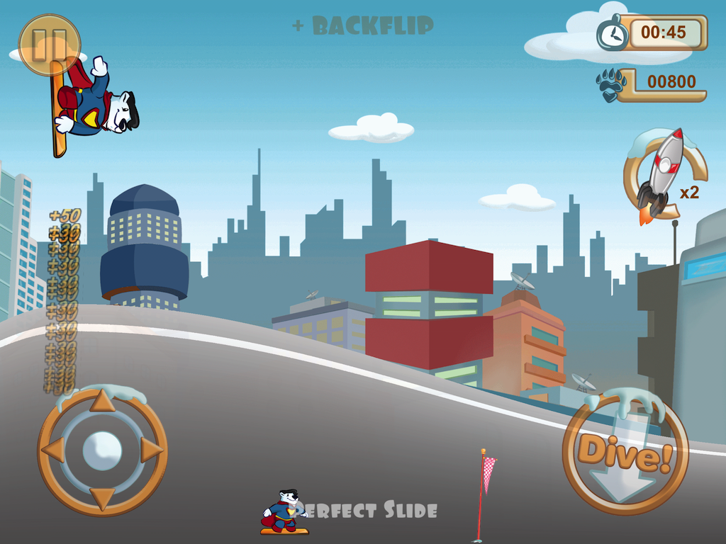 Snowboard Racing Free Fun Game- screenshot