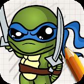 Draw: Ninjaa Turtle