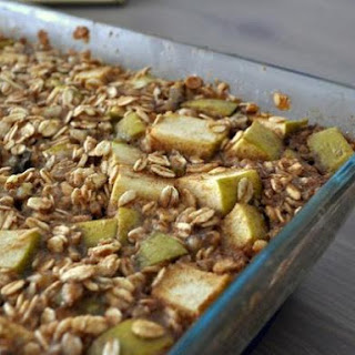 Baked Apple Cinnamon Oatmeal.