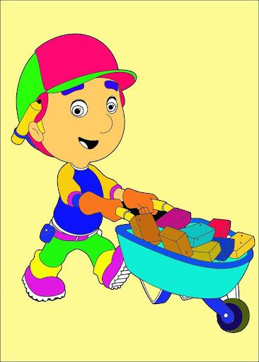 Kids Paint Manny