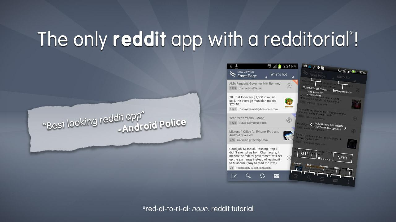 BaconReader for Reddit - screenshot