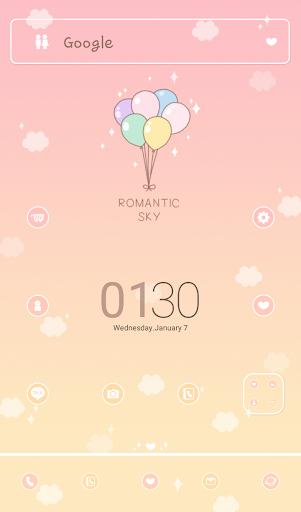 Romantic Sky 도돌런처 테마
