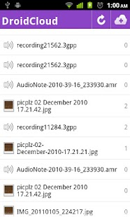DroidCloud - Pro - screenshot thumbnail