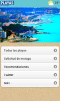 Screenshot of Playas de Málaga