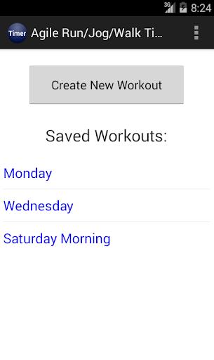 【免費健康App】Agile Run / Jog  / Walk Timer-APP點子