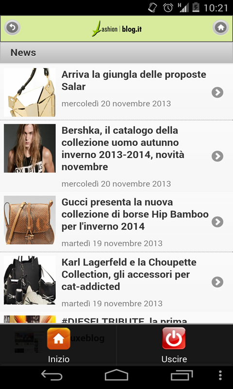 Fashion Blogs (stile, moda) - screenshot