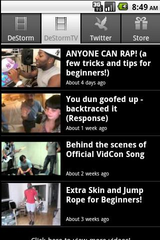 DeStorm - screenshot