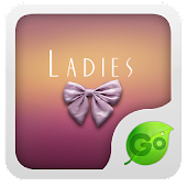 GO Keyboard Ladies theme