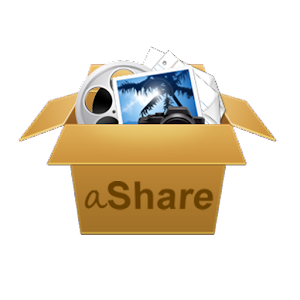 aShare - over the air sharing