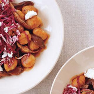 Gnocchi with 3-Mushroom Gravy