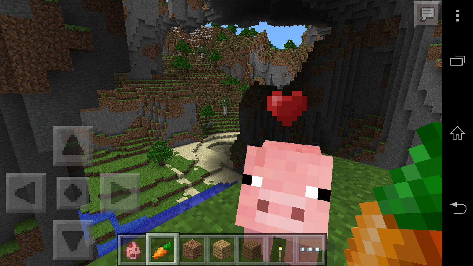 Minecraft pocket edition screenshot for Mine craft pocket addition