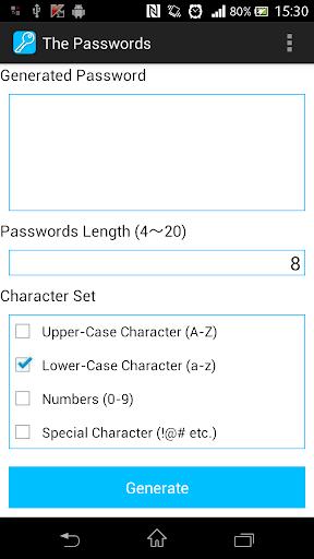 The Passwords