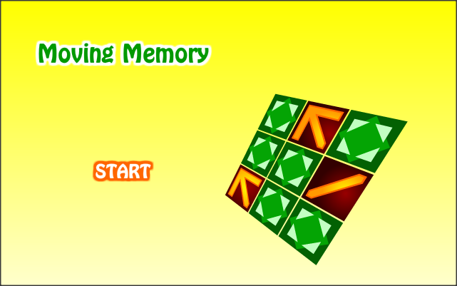 Moving Memory - screenshot