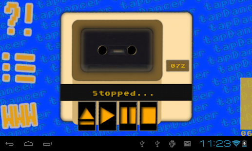 tapDancer Virtual Datasette- screenshot thumbnail
