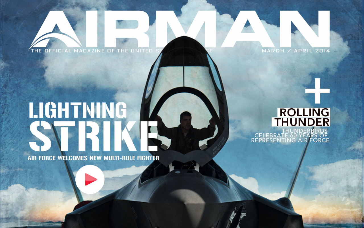 AIRMAN Magazine - screenshot