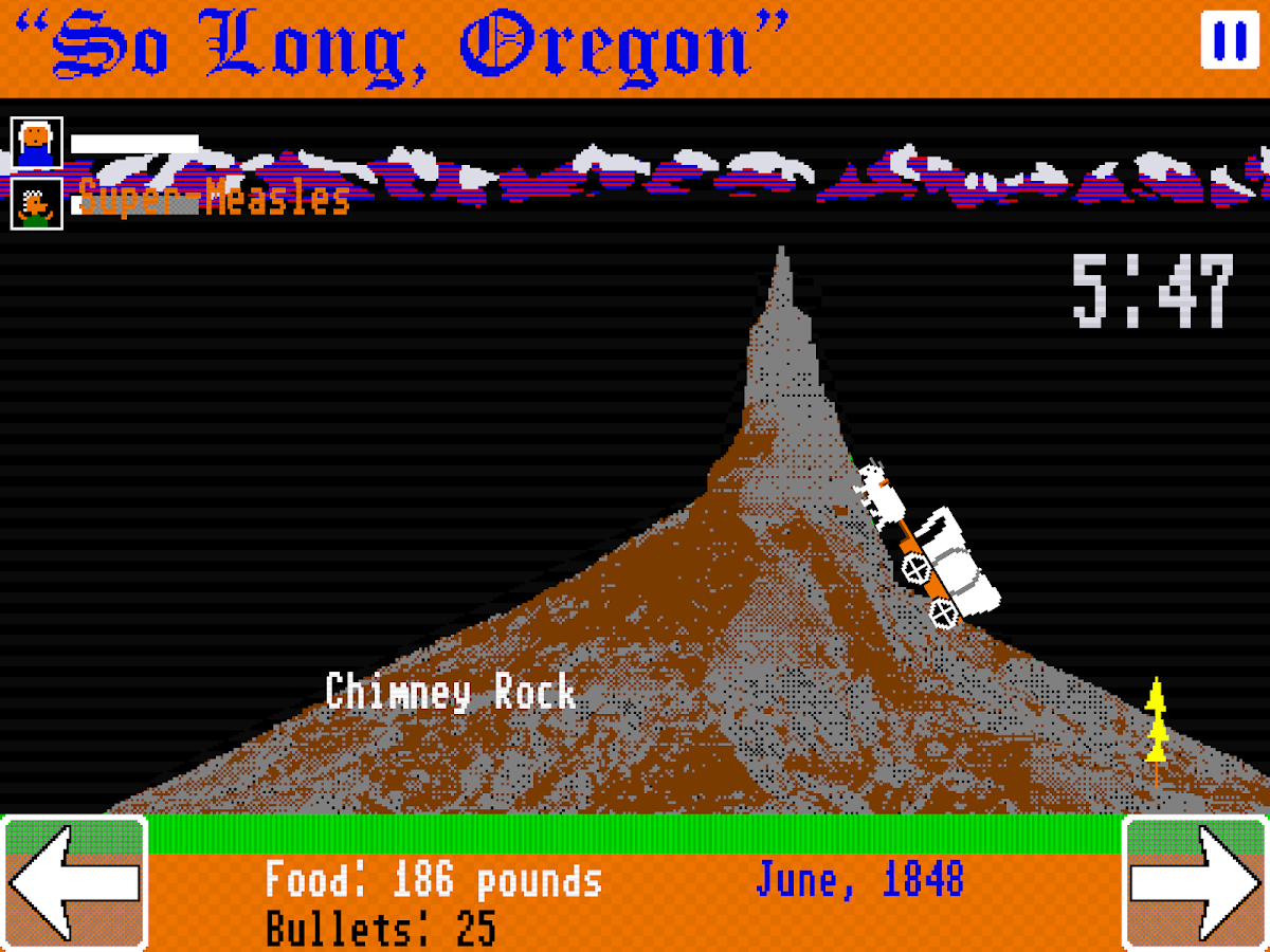 So Long, Oregon!- screenshot