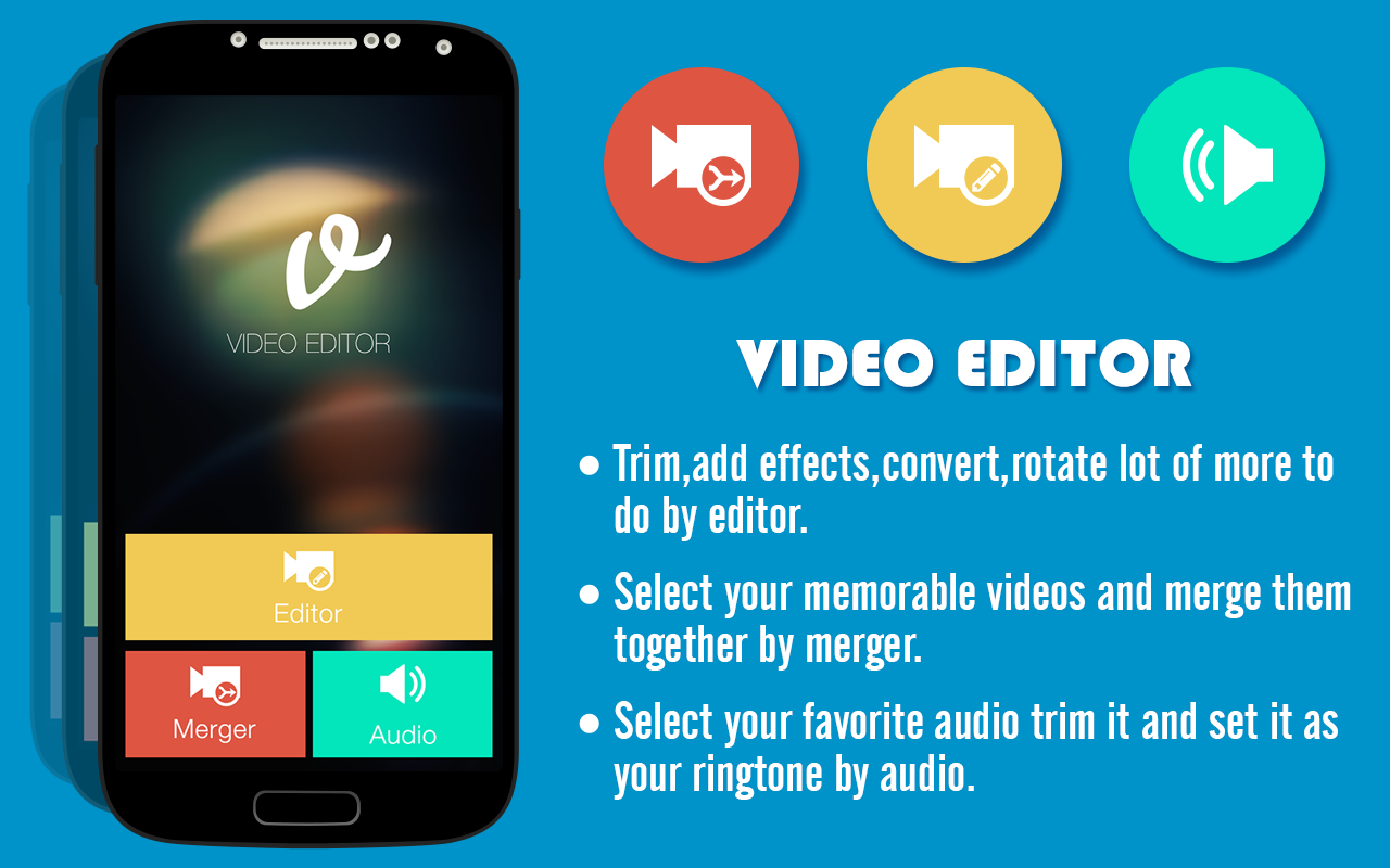 Video editor android apps on google play video editor screenshot ccuart Choice Image