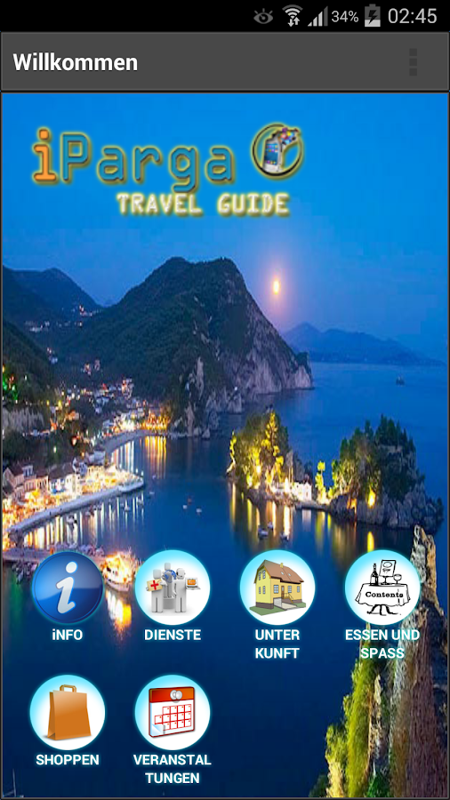 iParga Travel Guide (Parga) - screenshot