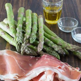 Serrano Ham Wrapped Asparagus.