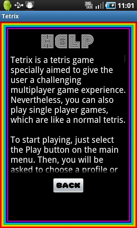 Tetrix - screenshot