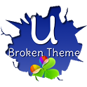 GO Launcher EX Broken Theme icon