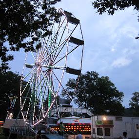 Summer at the Fair by Patrick Jones - City,  Street & Park  Amusement Parks ( local, fair, ferris wheel )