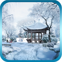 Snow In The Park LWP Free icon