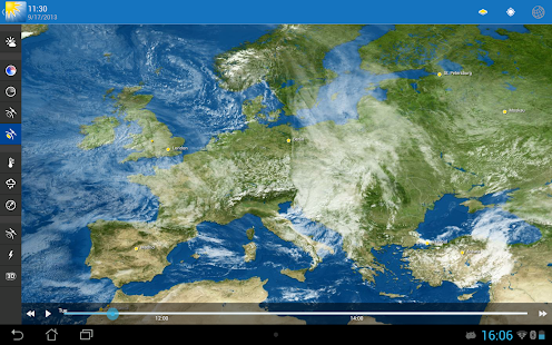WeatherPro HD for Tablet- screenshot thumbnail
