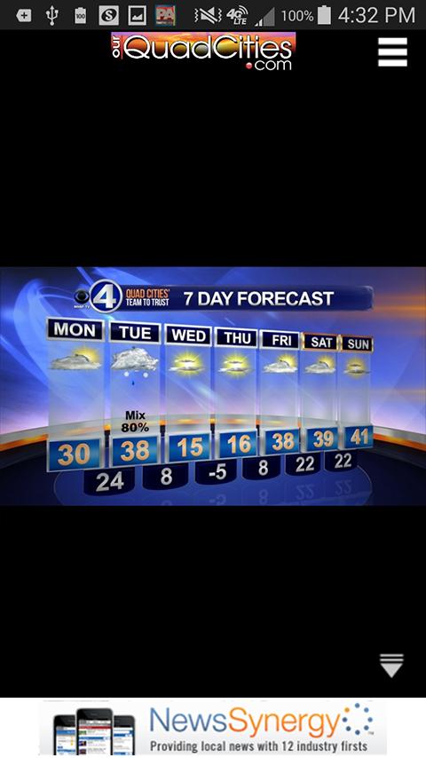 CBS4 News WHBF-TV Quad Cities - screenshot