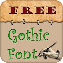 Free Fonts for Gothic Style icon