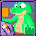 Crocodile Battery Widget