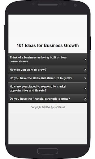 101 Ideas for Business Growth