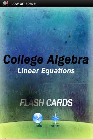 Algebra Linear Equations