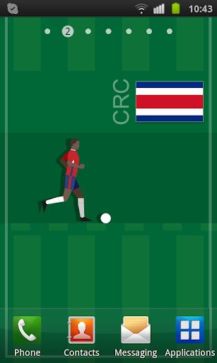 Costa Rica Soccer LWP