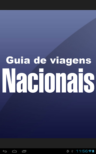 Guia de Viagens Nacionais