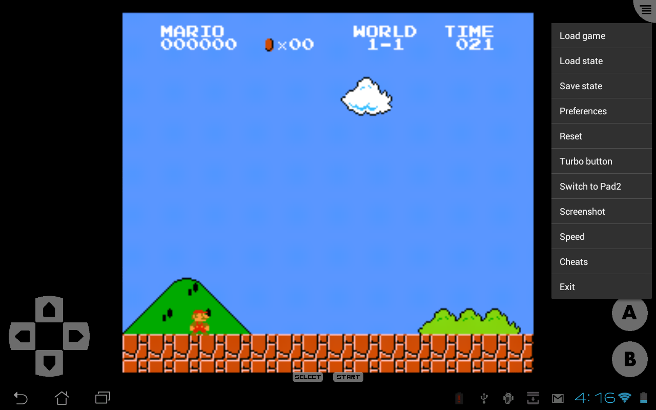 John NES Lite - NES Emulator - screenshot
