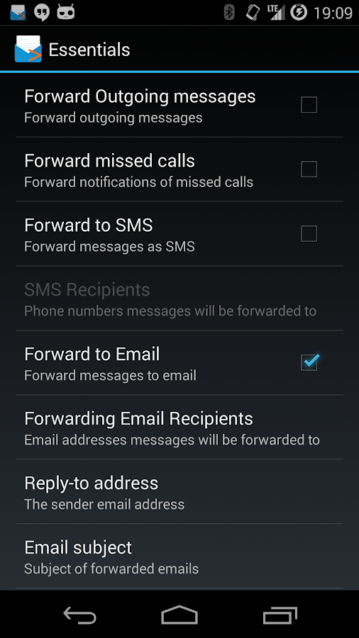 SMS Forwarder Pro - screenshot