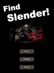 Find Slender Man Horror Puzzle