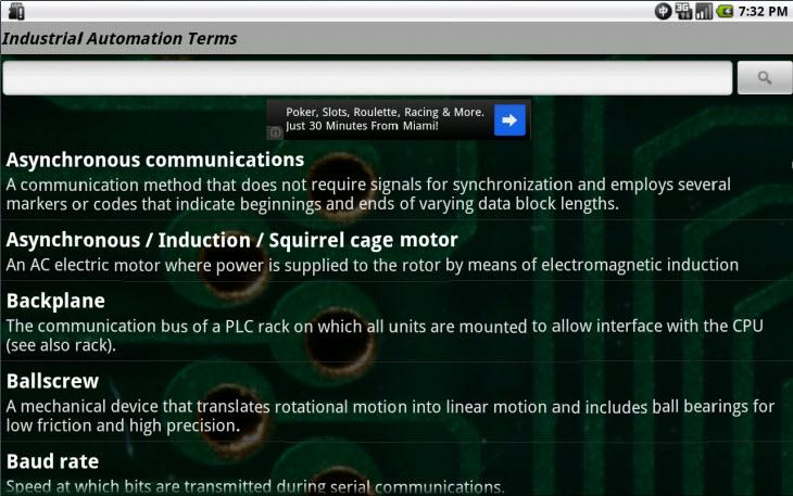 Industrial Automation TermsJr - screenshot