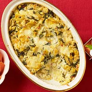 Spinach-Artichoke Dip with a Kick