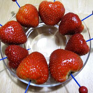 Chocolate Vodka Marinated Strawberries Recipe