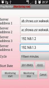 Ping Monitor- screenshot thumbnail