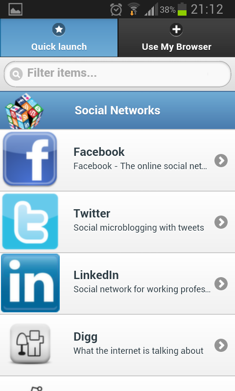 Free Social Networks - screenshot