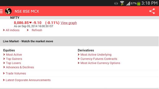 【免費財經App】NSE BSE MCX LIVE INDIA-APP點子